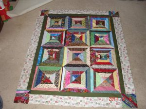 All Scrapped Out! Quilt by Beth Price of Stafford, VA