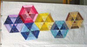 A host of hexagons.