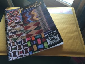 Signed book for Sew-Crazy Guild
