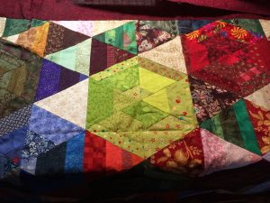 The quilt top.