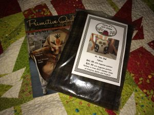 Al, the Owl Wool kit and Primitive Quilts and Projects magazine.