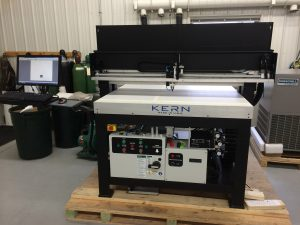 New laser cutting system
