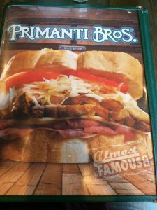 Primanti Bros.  as featured on Man vs. Food.