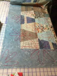 Designing on the quilt top