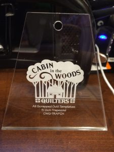 One of our latest Tumbler templates in Charm Size