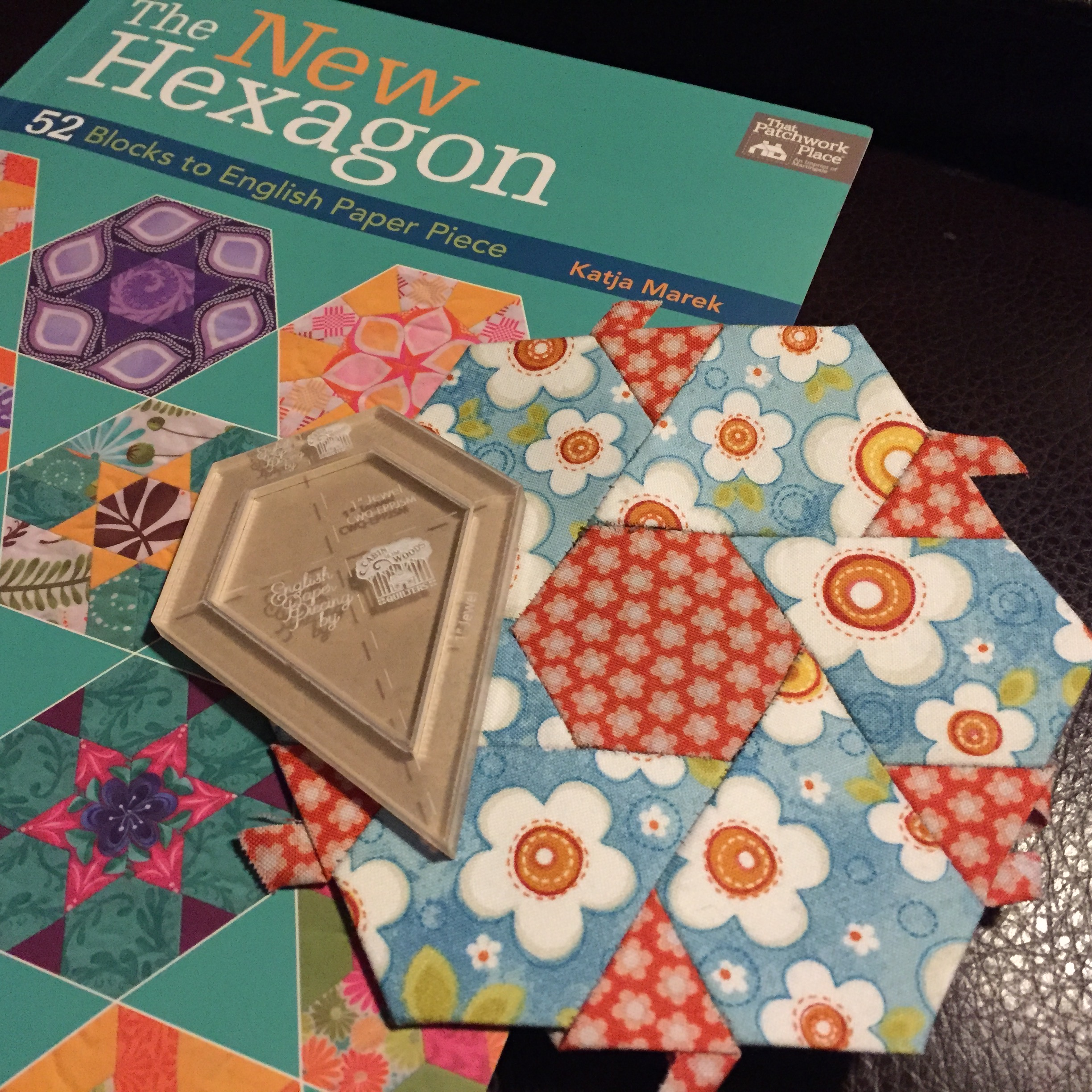 The New Hexagon Quilt Along The New Templates And Blocks 1 5